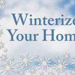 winterizing plumbing